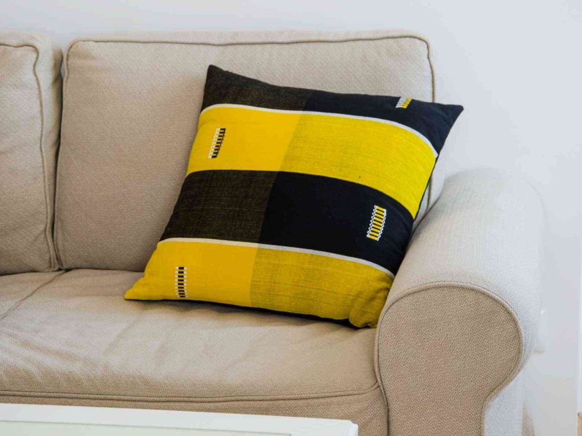 Danfani Cushion Inspired by Burkina Faso, Tailored in Italy-0