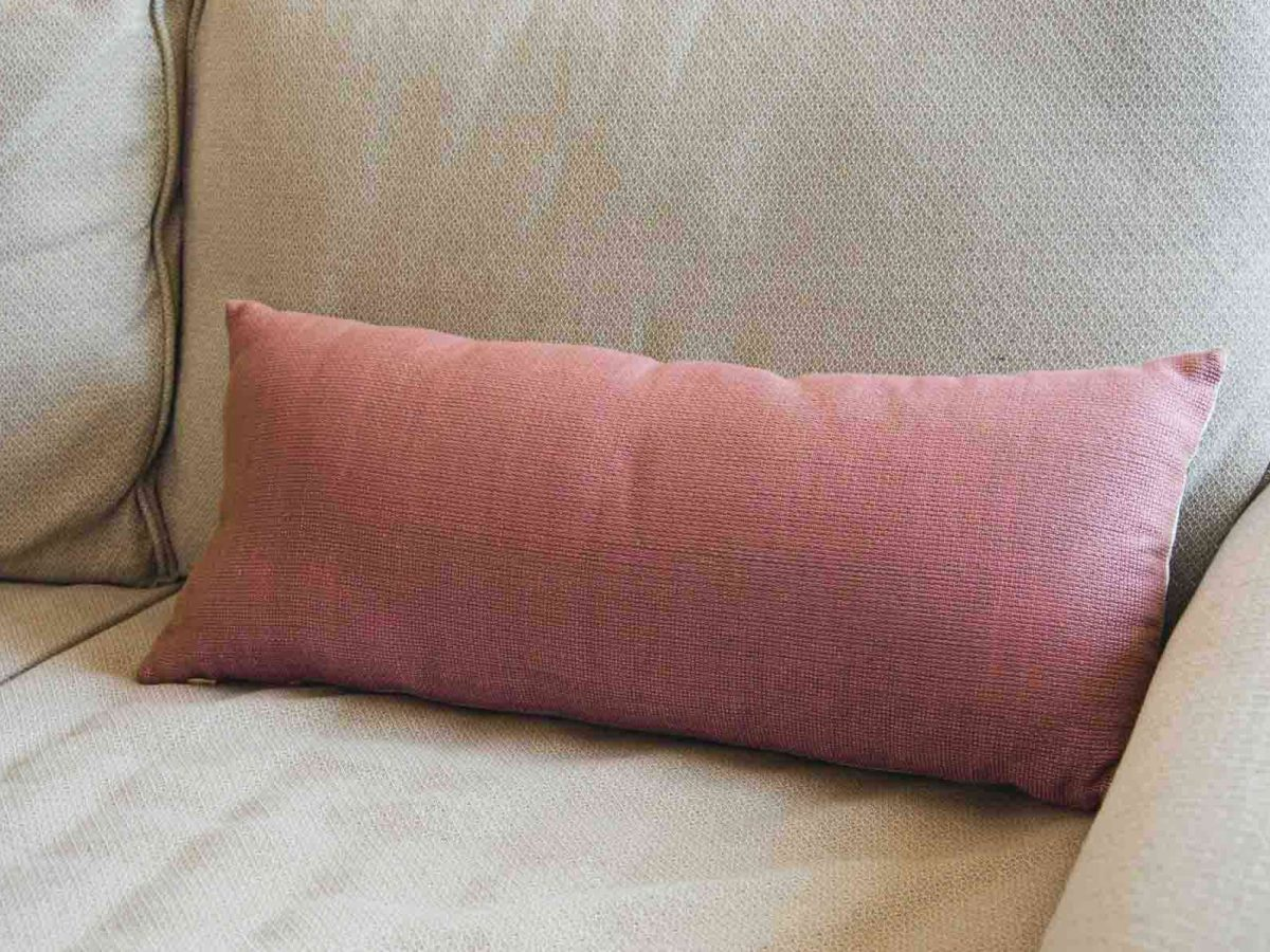 Rosadelvento Cushion Crafted in Senegal, Tailored in Italy-0