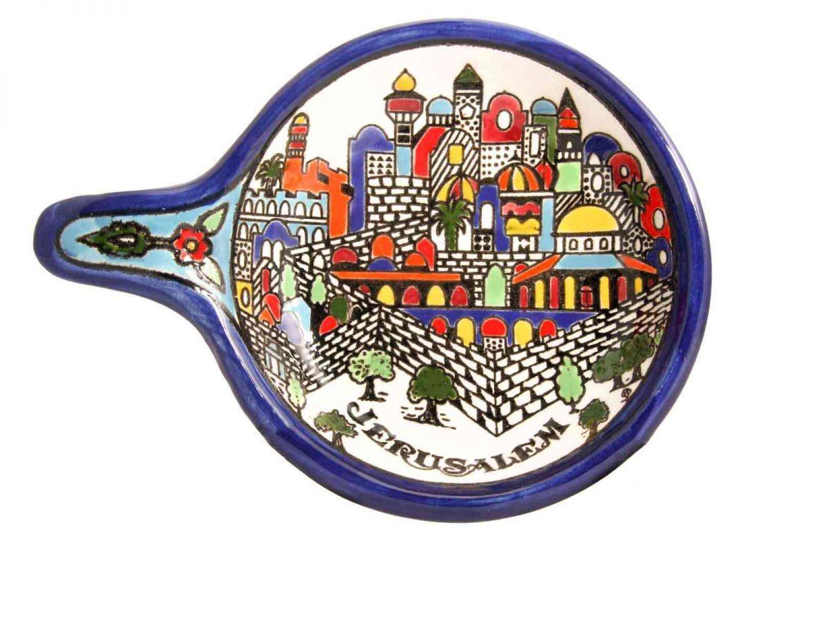 Armenian Ceramics Serving Pan-0