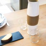 Rounded Spout Carafe - Handmade in Italy-1091