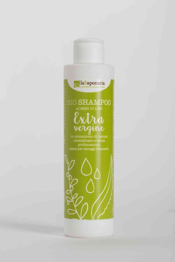 Extra Virgin Olive Oil Shampoo 200 ml-0