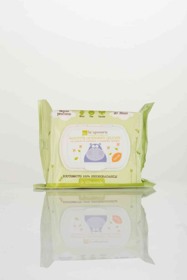 Gentle Cleansing Eco Wet Wipes-0