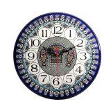 Armenian Ceramics Wall Clock -0