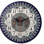 Armenian Ceramics Wall Clock -200