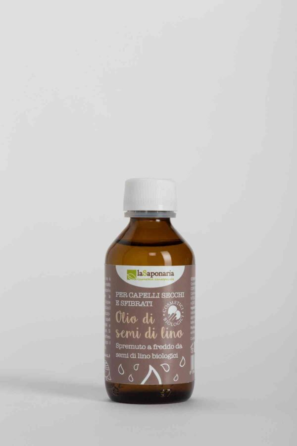 Organic Cold Pressed Linseed Oil 100 ml-0