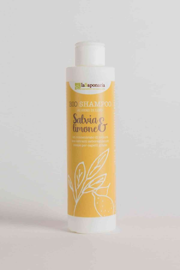 Sage and Lemon Shampoo 200 ml-0