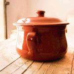 Clay Round Pot - Handmade in Italy-87