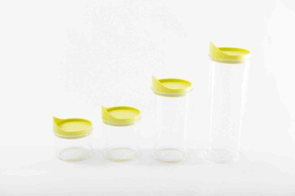Harmonia Plastic Food Jar set Acid green-0