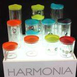 Harmonia Plastic Food Jar set Orange-901