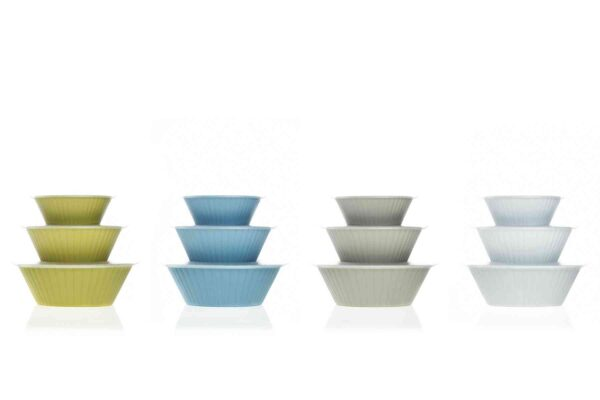 Dorica Salad Bowl Set with Lids - Made in Italy-0
