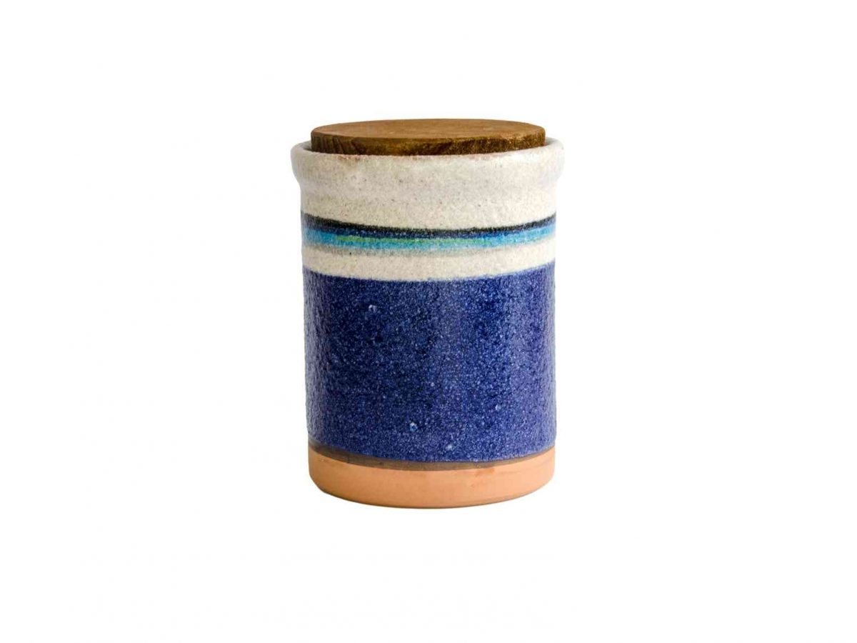 Ceramic Anchovy Salty Pot - Handmade in Italy-0
