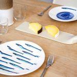 White Ceramic Dinner Plate - Handmade in Italy-1017