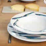 Handmade Ceramic Straight Pasta Plate - Handmade in Italy-1020