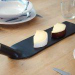 Handmade Ceramic Straight Pasta Plate - Handmade in Italy-1021