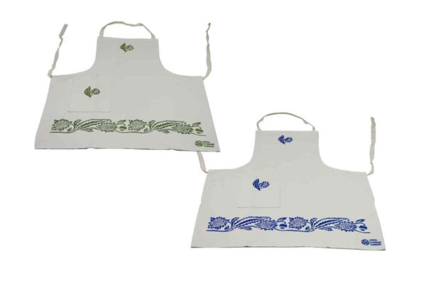 Sunflower One Pocket Aprons - Handmade in Italy-0