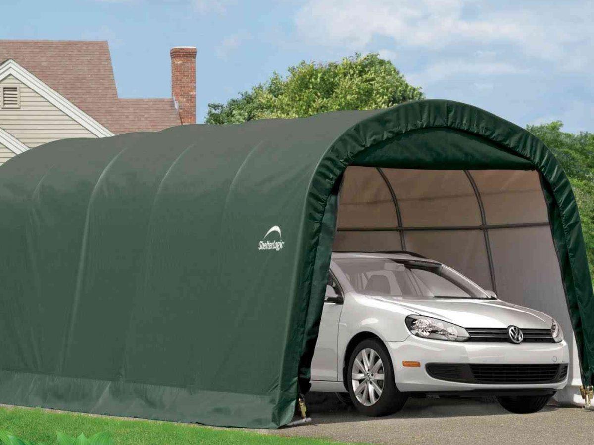 Shelter Logic Garage-in-a-Box 18,3m?-0