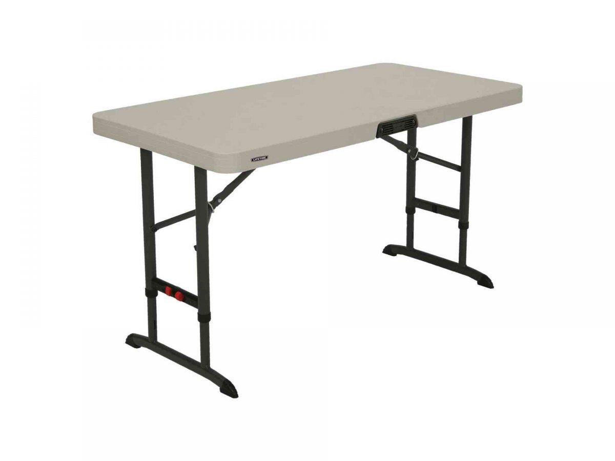 Lifetime plastic table - height adjustable-0