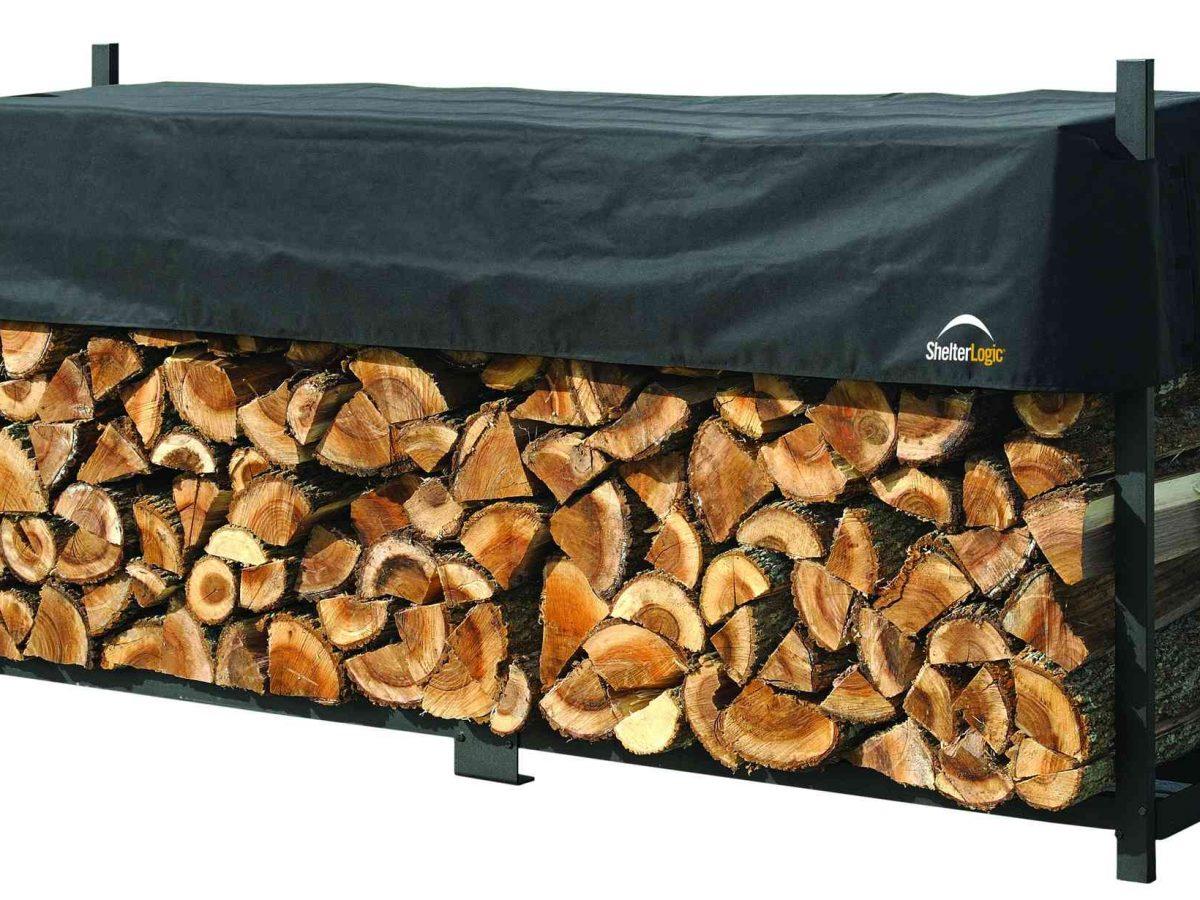 Shelter Logic Fire-Wood-Rack 239 cm-0