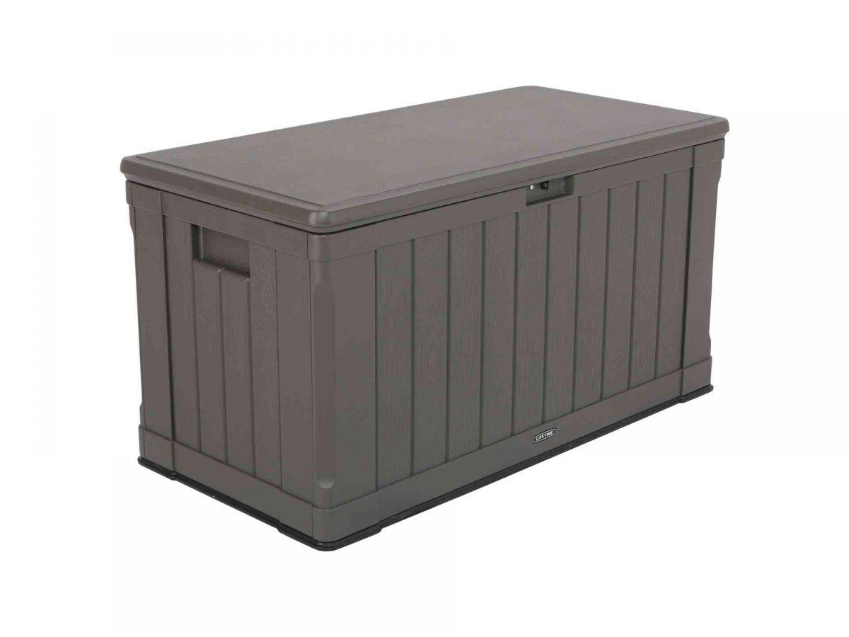 Lifetime Cushion box dark brown - 440 l-0