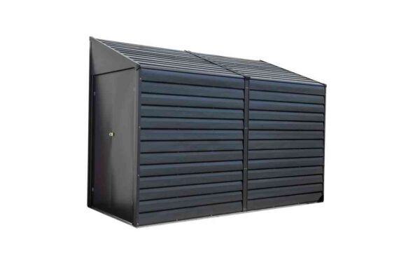 Spacemaker Leaning Roof Metal Appliance House-0