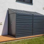 Spacemaker Leaning Roof Metal Appliance House-1806