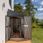Spacemaker Leaning Roof Metal Appliance House-1810