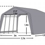 Shelter Logic Garage in a box 18.13 m2-1666
