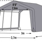 Shelter Logic Shed in-a-box 13.7m?-1661