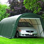Shelter Logic Round Top Garage in a box 22.57 sqm-1687
