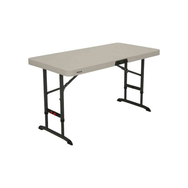 Lifetime plastic table - height adjustable-0
