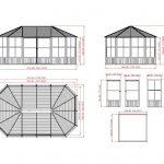 Sojag Aluminum Pavilion, Charleston Conservatory - Large-2944