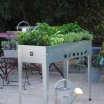 Herstera Garden raised bed Urban silver-1812