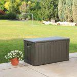 Lifetime Cushion box dark brown - 440 l-1949