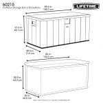 Lifetime pillow box dark gray 570 L-2023