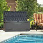 Lifetime Cushion Box Carbon Gray 495l-2028