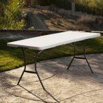 Lifetime large plastic table - height adjustable-1993