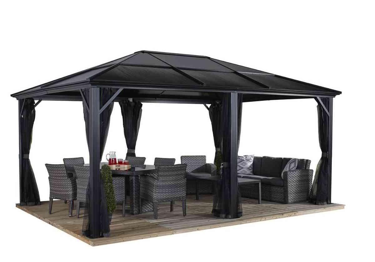 Sojag Aluminum Pavilion Meridien anthracite-0