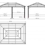 Sojag Aluminum Pavilion Meridien anthracite-1869