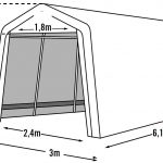Shelter Logic Garage-in-a-Box 18,3m?-1678