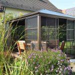 Sojag Aluminum Pavilion winter garden Castel -0