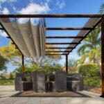 Paragon Pavilion Gazebo Florida - dark brown-1770