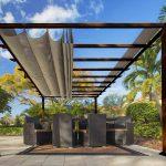 Paragon Pavilion Gazebo Florence - dark brown-0