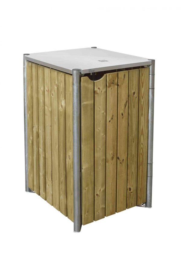 Hide garbage bin - 140L volume-0