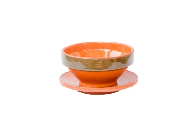 Clay Bowl Plate Set - Set of 6-0