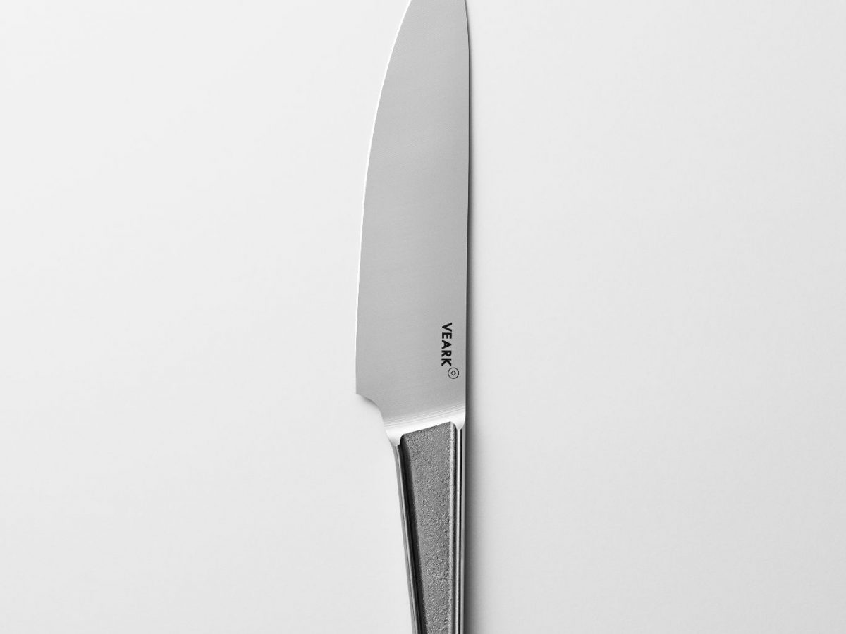 Single Piece Stainless Steel Chef's Knife-0