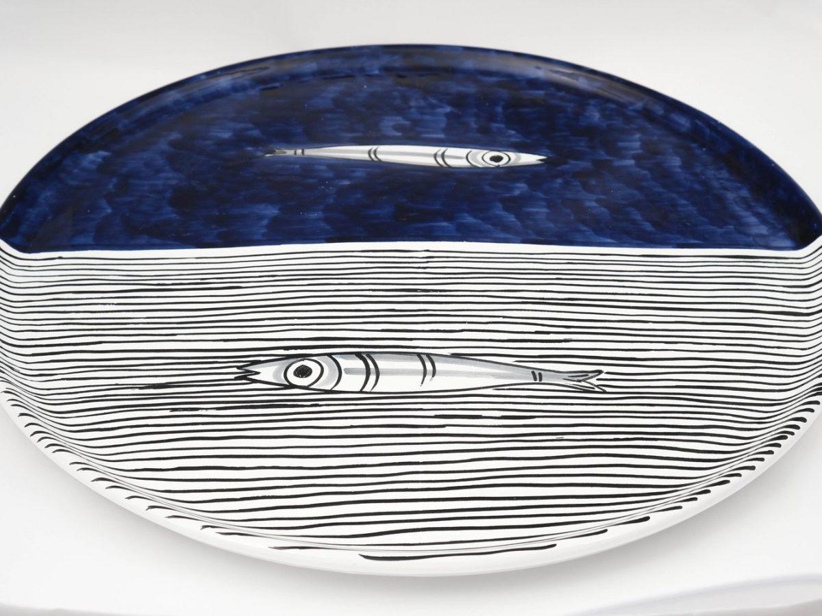 Vietri Anchovies Serving Platter-0