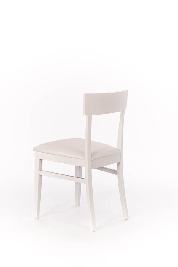 MONACO White Chair-0
