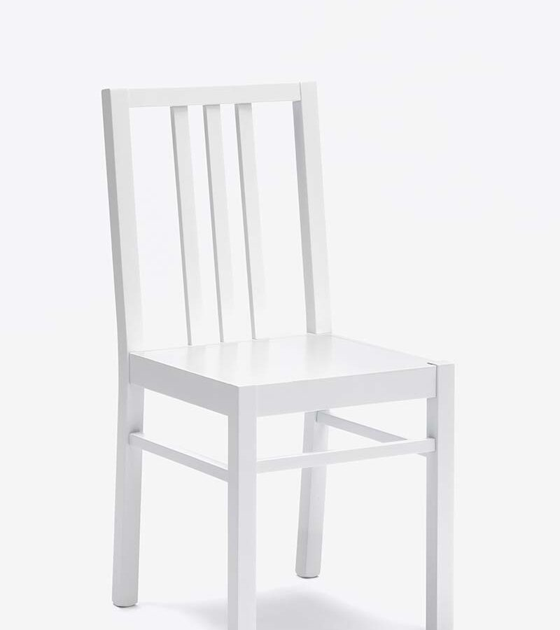 MINA White Chair-0
