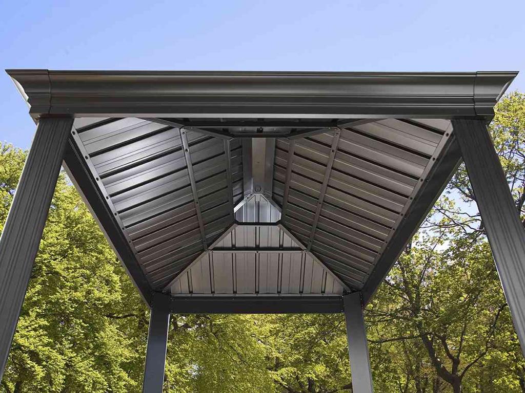 Sojag Aluminium BBQ Gril Pavillon Messina_VPLUS habitat